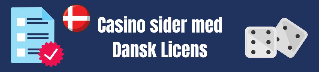 spill på online casino med dansk licens