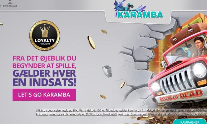 Karamaba Casino DK