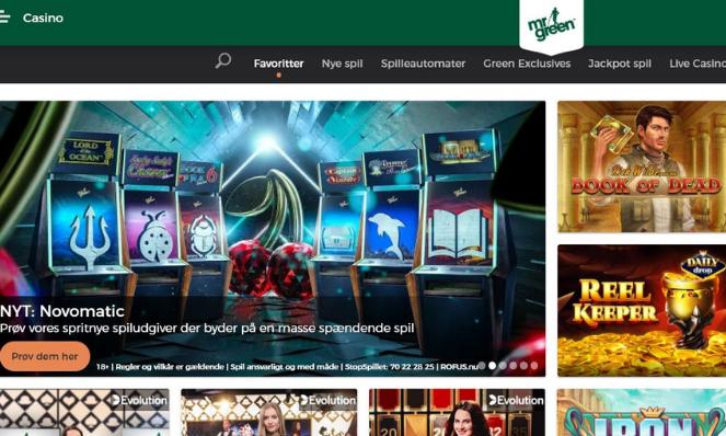 mr green dk casino