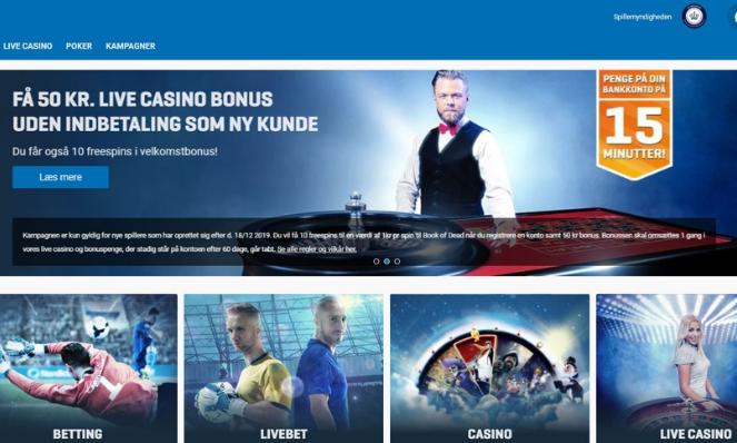 nordicbet casino lobby danmark
