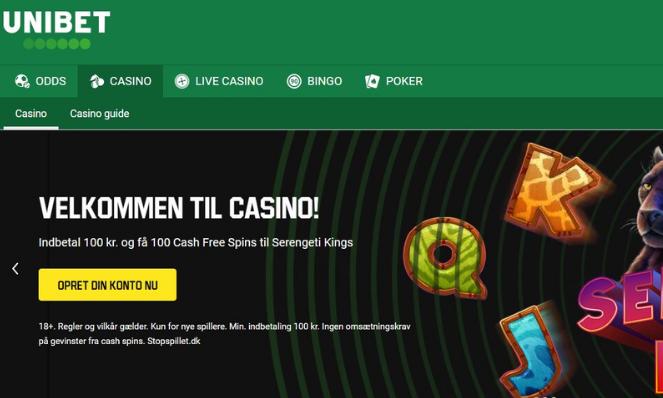 unibet casino danmark
