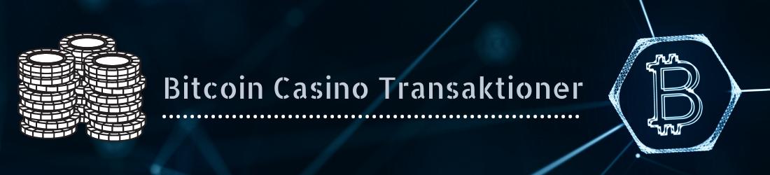 bruke online casinotransaktioner